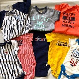 32 Pcs Newborn Boys Baby Clothing Bundle